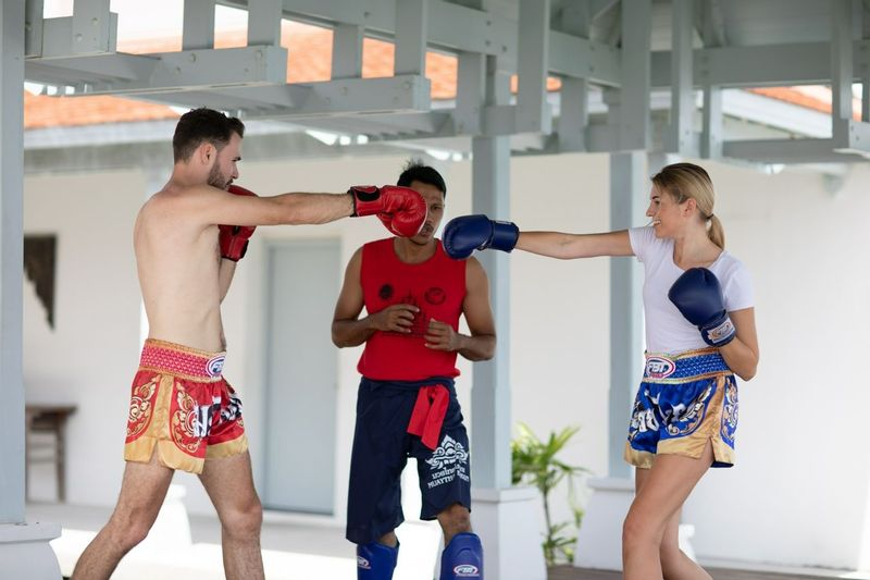Thai boxing - kickboxing benefits