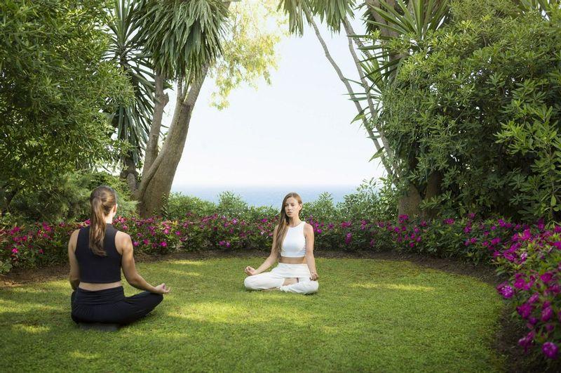Yoga at Marbella Club