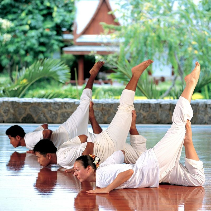 Yoga at Chiva Som