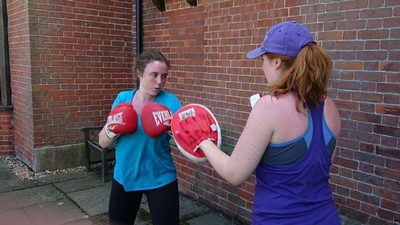 GI Jane UK Bootcamp boxing