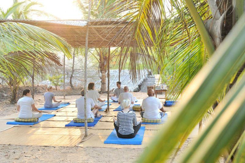Yoga Class at SwaSara